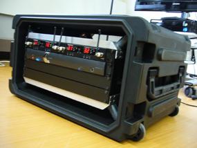 ポータブル音響装置:中身