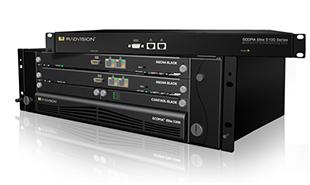 テレビ会議専用MCU(多地点接続装置)を採用