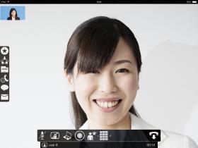 ウェブ会議システムLifesize Cloud画面レイアウト iOS