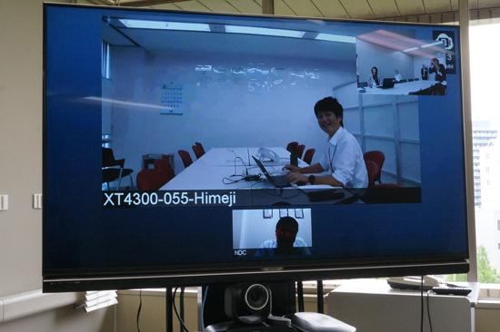 姫路支店も会議室にSCOPIA XT4300を設置 フルHD画質テレビ会議でストレスフリー